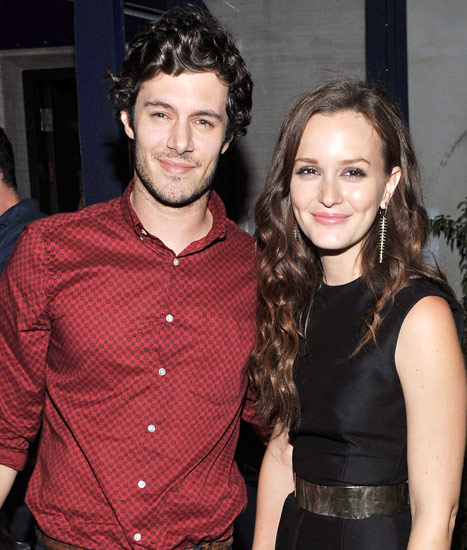 Leighton Meester and Adam