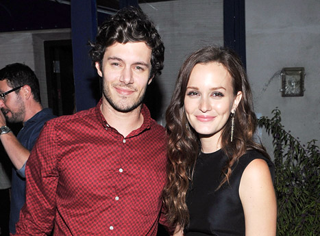 Leighton Meester engaged