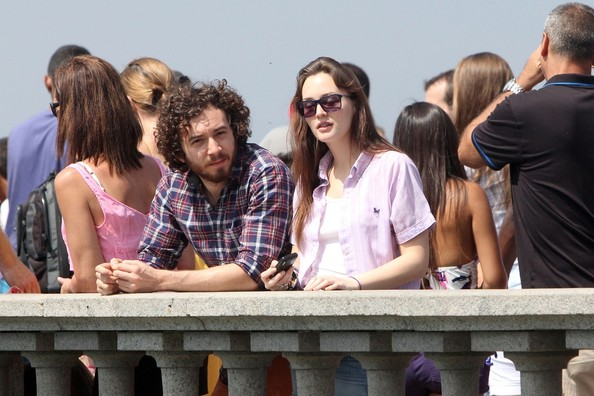 Leighton Meester and aaron H.