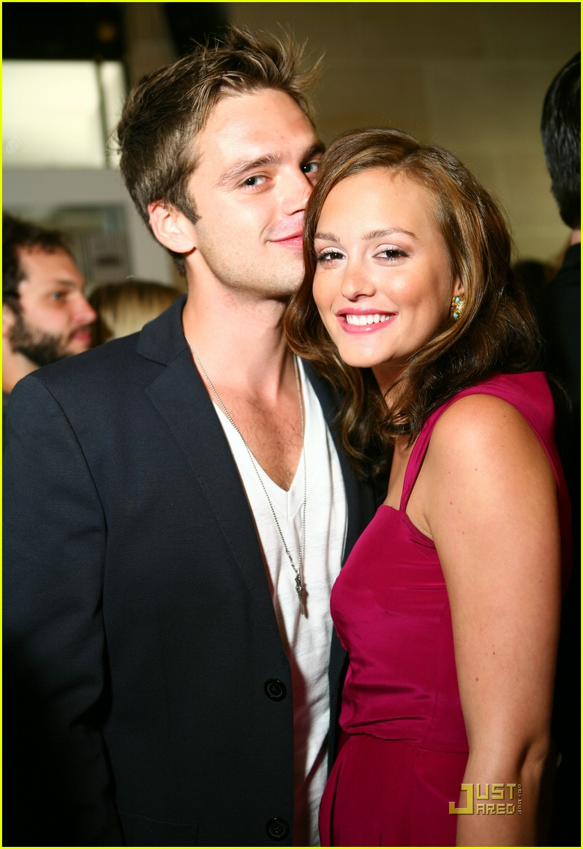 Leighton Meester and Sebastian