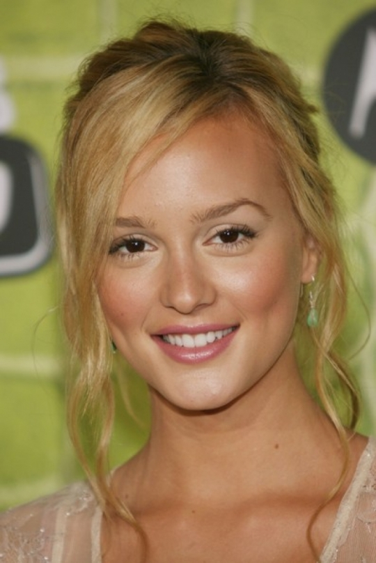 Leighton Meester blonde hair