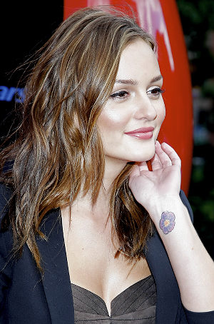 Leighton Meester tattoo