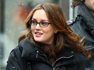 Leighton Meester glasses